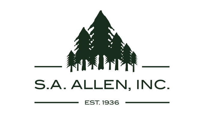 S. A. Allen, Inc. Logo - Speros Graphic Design - Savannah, GA