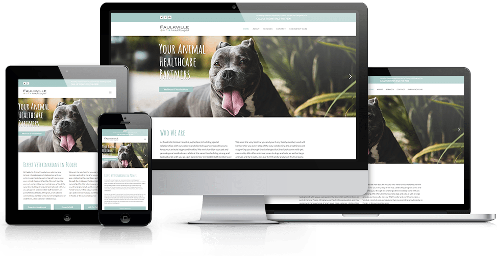 Responsive Web Design Showcase - Speros - Savannah, GA