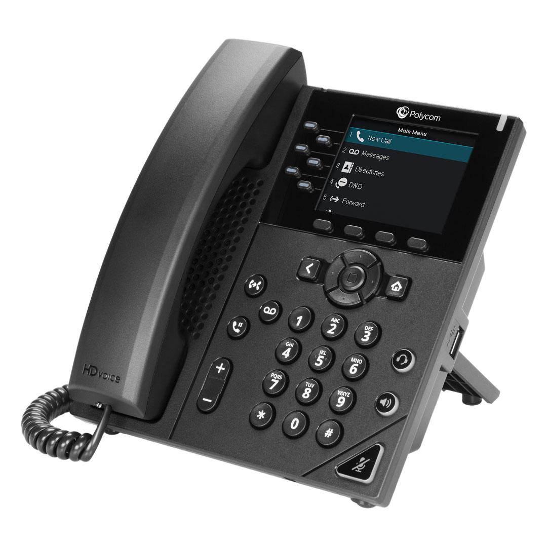 Polycom VVX 350 Desk Phone - Speros - Savannah, GA