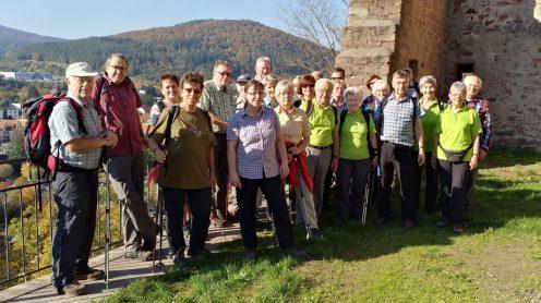 Gruppenfoto auf der Scherenburg