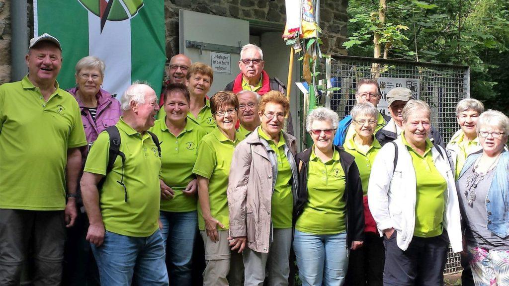 Wimpelwanderung 2016 zur Kippenburg