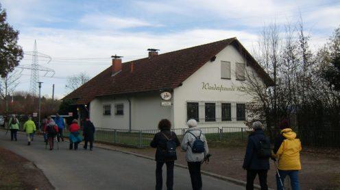 14.02.2019 – Wanderung zum Dämmer Wanderheim