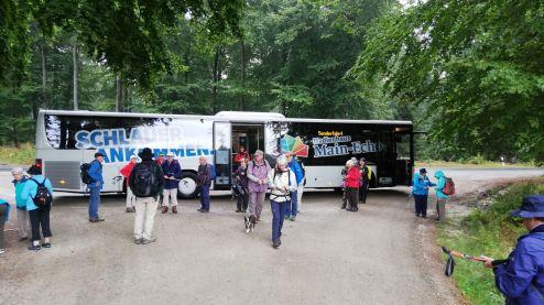 20190908 - Hafenlohrtal - Am Start der Wanderung
