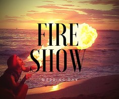 fireshow-wedding-day
