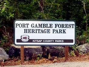 Trails at Port Gamble Washington