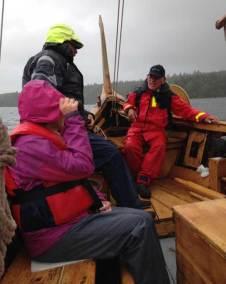 Tack Göran, Lars, Annika samt Täby Vikinga Skeppslag för att vi fick uppleva en Vikingafärd i skönt och lite robustare väder.