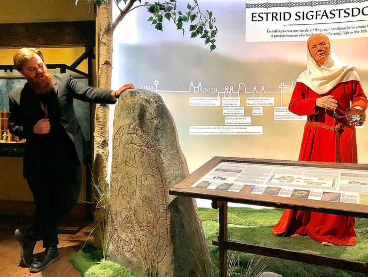 Täbys Estrid bor nu på Djurgården