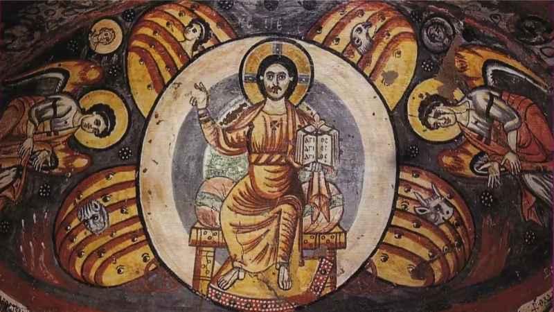 9 copti egiziani Gesù nell'arte
