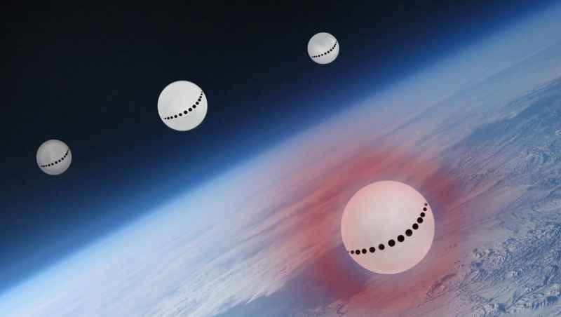 2 Spheres Over Antarctica