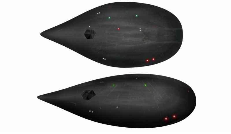 3 Dark Fleet Teardrop Cruisers