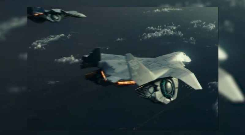 5 Aircraft In Sequel To Independence Day