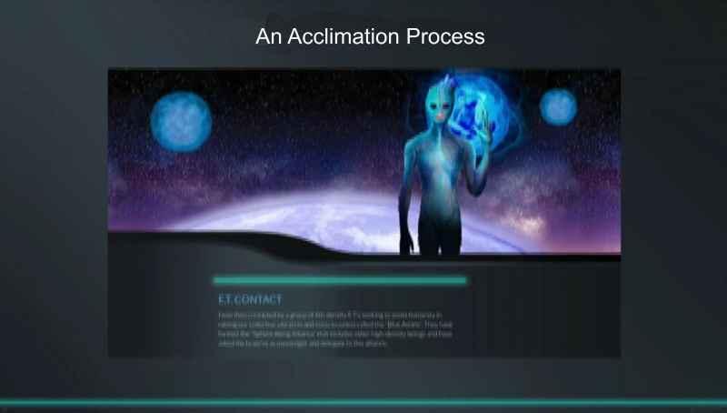 27 ET Contact An Acclimation Process