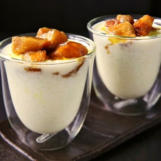 Paal Payasam with Butterscotch Apples