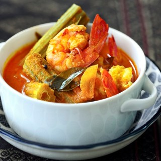 Prawns and Drumsticks Curry