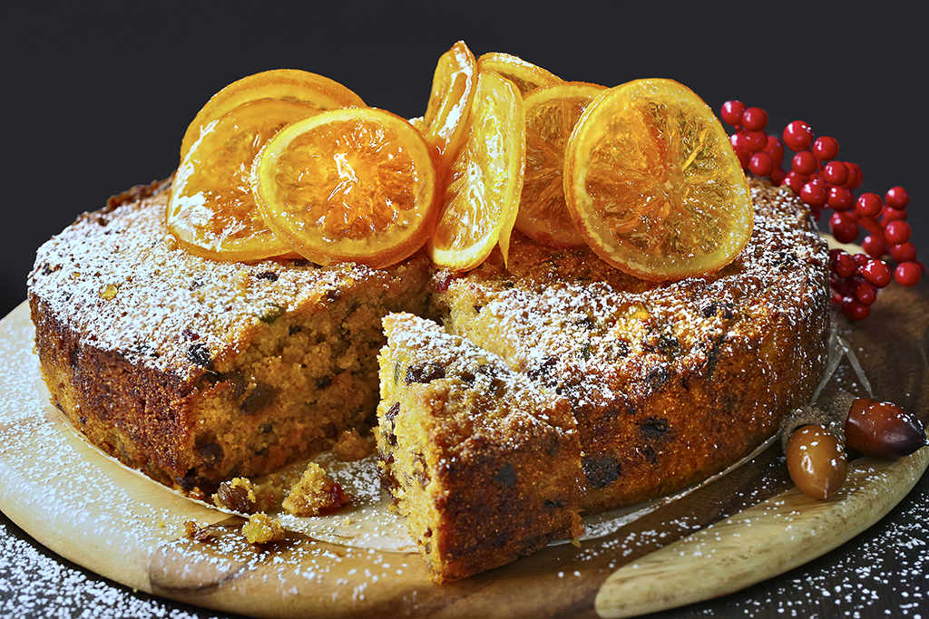 orange-semolina-fruit-cake
