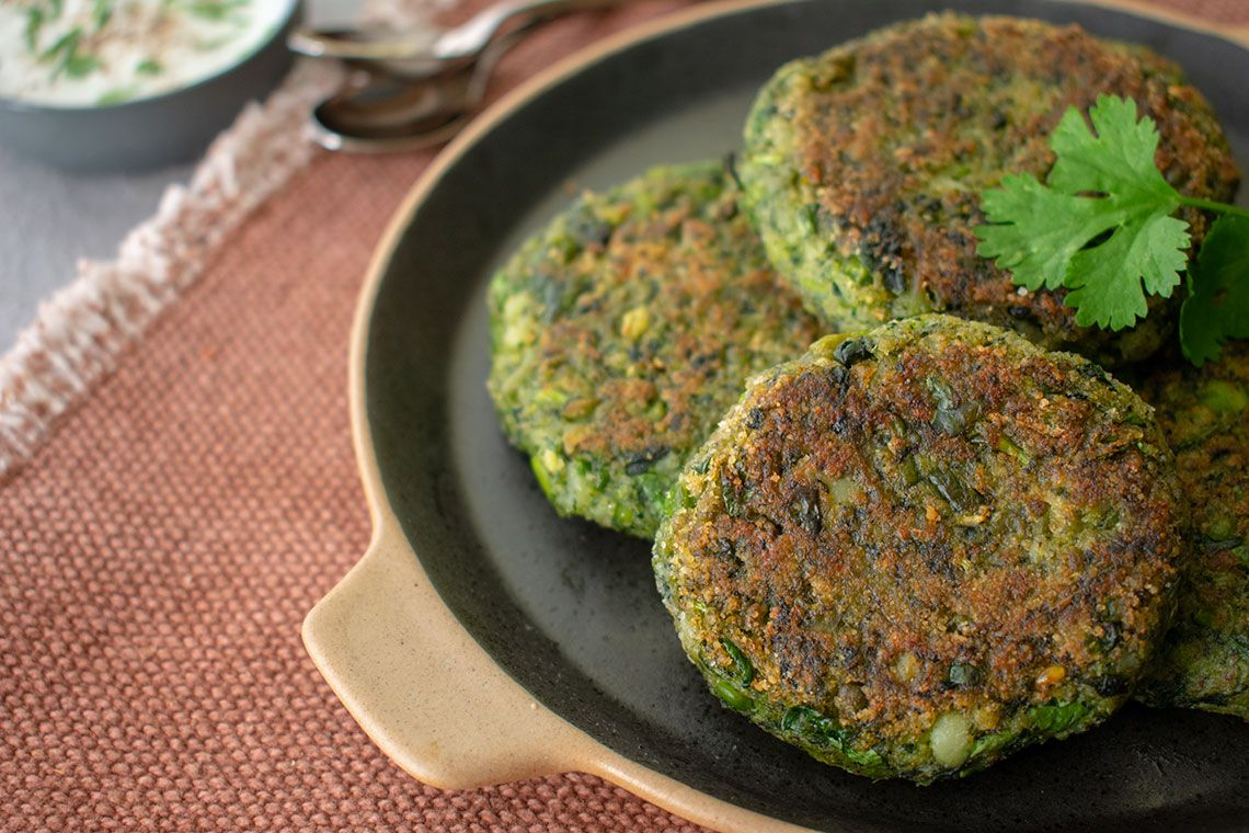 Hara Bhara Kabab (Vegetable Kebab)