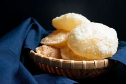 Luchi (Fried bread Bengali style)