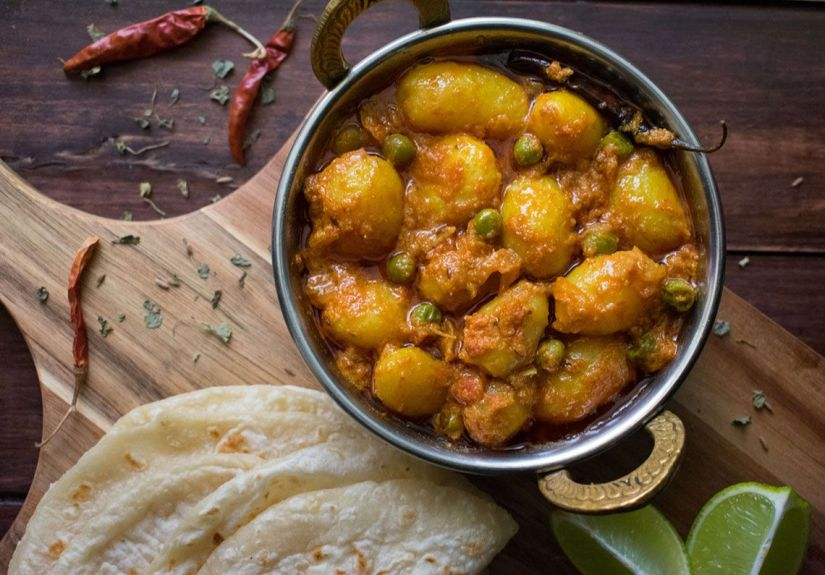 Dum Aloo (Patatas al curry)