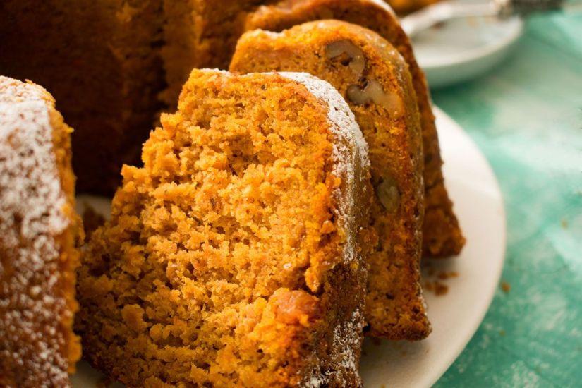 Bundt Cake de Calabaza con Especias