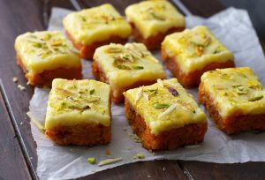 Gajar Ki Barfi (Delicias de zanahoria)
