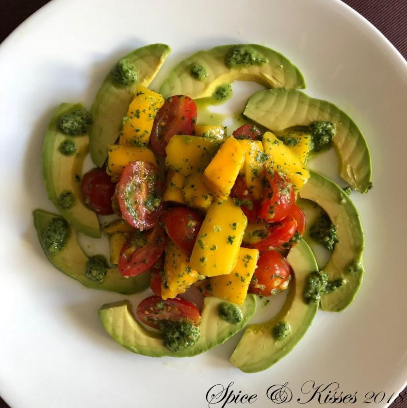 Mango Avocado And Tomato Salad Recipe Review
