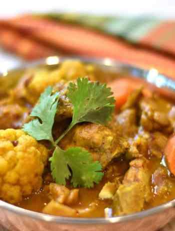 Chicken Vindaloo Keto in Instant Pot, Garam masala kitchen