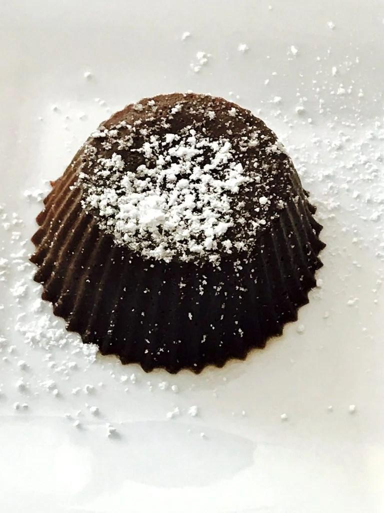 15 minute Chocolate Lava Cake