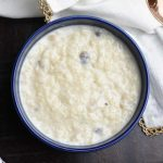 Rice Pudding-Kheer in Instant Pot by Spice Cravings. Rice Pudding-Kheer is a popular dessert from the northern Indian cuisine made by cooking rice with milk and sugar, enhanced by cardamom or saffron. #food #foodie #foodblogger #delicious #recipe #instantpot #recipes #easyrecipe #cuisine #30minutemeal #instagood #foodphotography #tasty