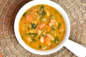 Minestrone Soup in Instant Pot