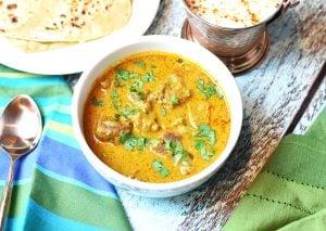 lamb korma curry instant pot pressure cooker