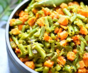 Green Beans and Carrot instant pot or stir fry