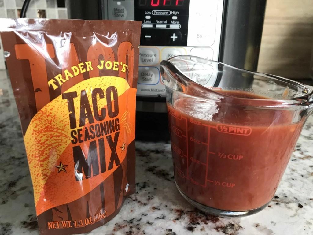 3-ingredient Instant Pot Salsa Chicken