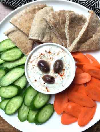 Tzatziki sauce dip, Instant Pot yogurt, Garam Masala Kitchen