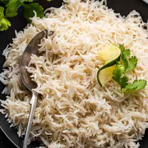 3-ingredient recipe for creamy and delicious Instant Pot coconut rice. #food #foodie #foodblogger #delicious #recipe #instantpot #recipes #easyrecipe #cuisine #30minutemeal #instagood #foodphotography #tasty #coconut