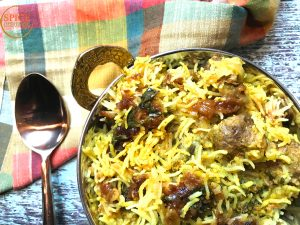 Instant pot Lamb dum Biryani / pressure cooker Lamb Biryani by Spice Cravings. Lamb Dum Biryani is a meat and rice dish where meat marinated in bold Indian spices is cooked with fragrant Basmati rice and aromatics like onions & herbs. #food #foodie #foodblogger #delicious #recipe #instantpot #recipes #easyrecipe #cuisine #30minutemeal #instagood #foodphotography #tasty #indian #Instant pot Lamb dum Biryani / pressure cooker Lamb Biryani by Spice Cravings. Lamb Dum Biryani is a meat and rice dish where meat marinated in bold Indian spices is cooked with fragrant Basmati rice and aromatics like onions & herbs. #food #foodie #foodblogger #delicious #recipe #instantpot #recipes #easyrecipe #cuisine #30minutemeal #instagood #foodphotography #tasty #indian #curry