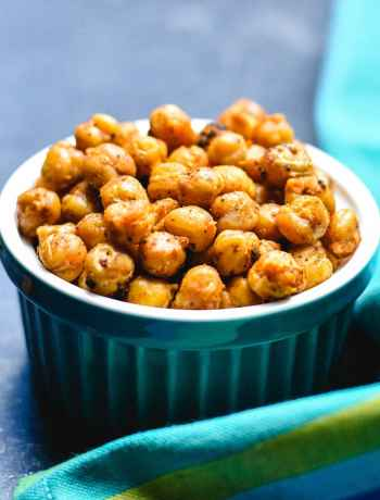 Mediterranean Spiced Oven Roasted Chickpeas