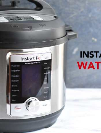 Step by step instructions for doing the water test in an Instant Pot