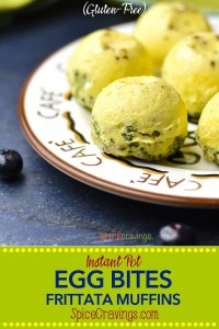 Pin for Instant Pot Egg Bites Frittata Muffins