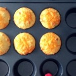 Finished, cooked cornbread in the Jalapeno Cheddar Cornbread recipe