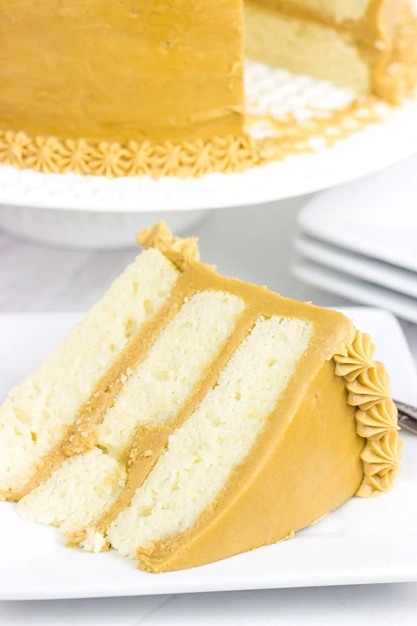 School Caramel Cake Recipe