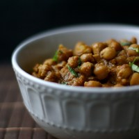 Punjabi Chickpea Curry - CHANNA MASALA