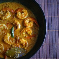 Chingri Malai Kari - Bengali King Prawn Coconut Curry