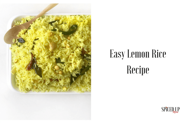 Simple south indian lemon rice recipe spiced up mom i love the food of southern india and lemon rice is one of my most favorites its tangy spicy and incredibly easy to make found both in homes and on the forumfinder Images