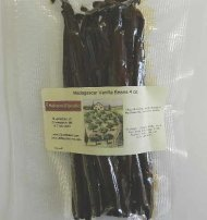 Premium Madagascar Vanilla beans 1/4 lb by JR Mushrooms