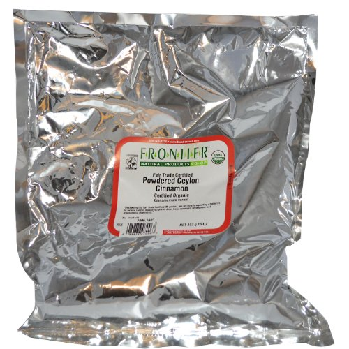 Frontier Herb Organic Ceylon Ground Cinnamon, 1 Pound bag — 1 each.