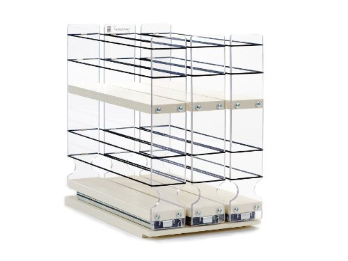 Spice Rack – Cabinet Mounted- 3 Drawers – 36 Capacity – New and Unique