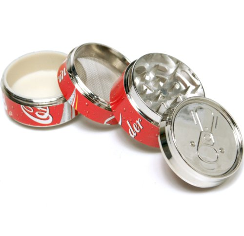 Coke Pop CAN 2″ ,Super Mini tobacco Herb Grinder,4 Parts,