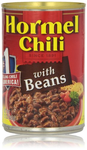 Hormel Chili, with Beans, 15 Oz