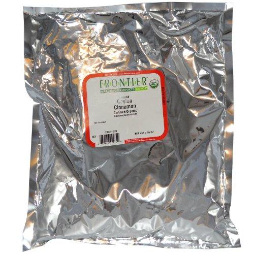 Frontier Herb Organic Ceylon Cinnamon Powder (1x1lb)