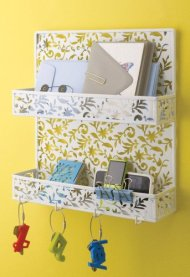 Design Ideas Vinea Spice Rack, White